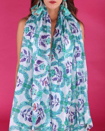 Foulard Antica Sartoria Positano Cotton 2019S435 negoziodebora.it