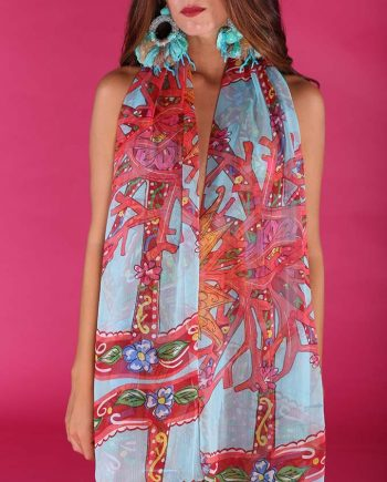Foulard Antica Sartoria Positano 2019S494 negoziodebora.it