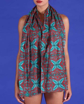 Foulard Antica Sartoria Positano Cotton 19 negoziodebora.it