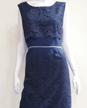 Abito Debora Couture 19108 Blu negoziodebora.it