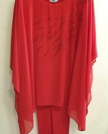 Completo Debora Couture 131901 Rosso negoziodebroa.it