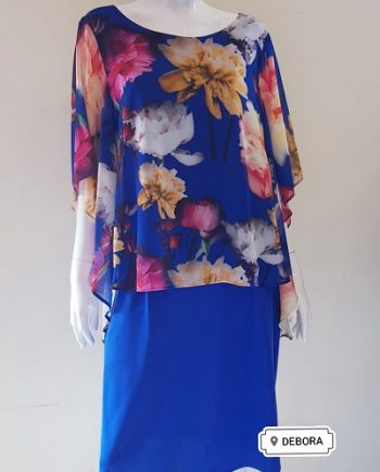 Abito Debora Couture 04010 Blu