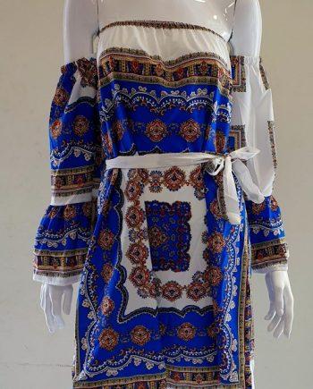 Abito Debora Couture 6017 Blu