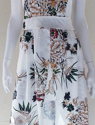 Abito Debora Couture 6029 Bianco negoziodebora.it