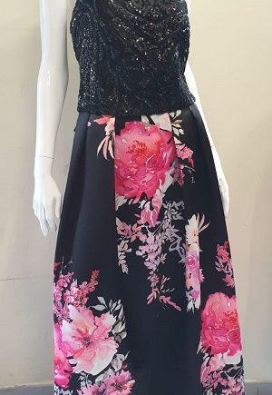 Abito Debora Couture 825 Fucsia