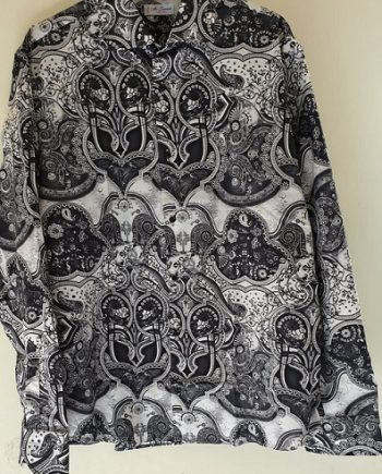 Camicia Debora Couture 307 Bianca E Nera negoziodebora.it