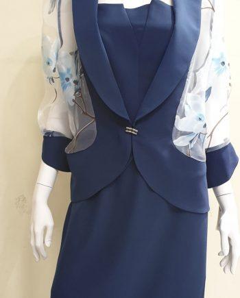 Completo Debora Couture 1191 Blu negoziodebora.it