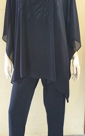 Completo Debora Couture 131901 Blu negoziodebora.it