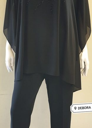 Completo Debora Couture 131901 Nero negoziodebora.it