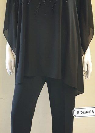 Completo Debora Couture 131901 Nero negoziodebora.it