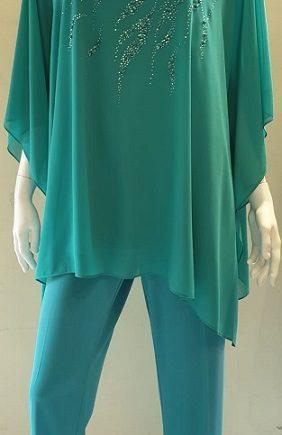 Completo Debora Couture 131901 Verde negoziodebora.it