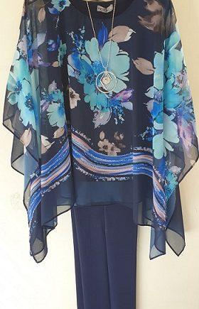Completo Debora Couture 131911 Blu negoziodebora.it