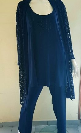 Completo Debora Couture 1319201 Blu negoziodebora.it