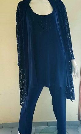 Completo Debora Couture 1319201 Blu negoziodebora.it
