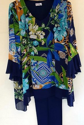 Completo Debora Couture 1319202 Blu negoziodebora.it