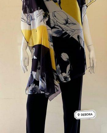 Completo Debora Couture Elba Giallo negoziodebora.it