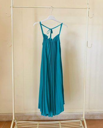 Abito Debora Couture 7738 Verde negoziodebora.it