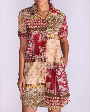 Antica Sartoria Positano Long Shirt 85/5 negoziodebora.it