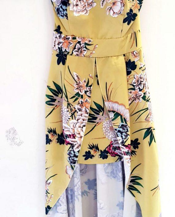 Abito Debora Couture 6029 Giallo negoziodebora.it