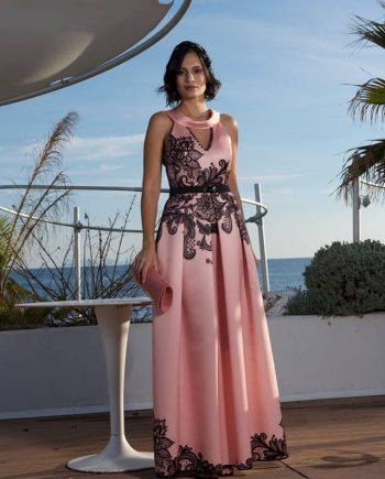 Abito Debora Couture 608 Rosa