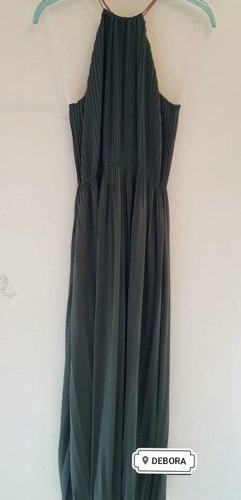 Abito Debora Couture 776 Verde negoziodebora.it