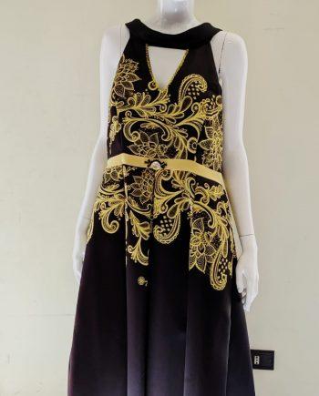 Abito Debora Couture 608 (GIALLO)