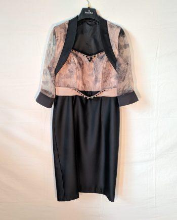 Abito Debora Couture AG 652 (SABBIA)