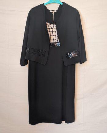 Abito Debora Couture 7139 (NERO)