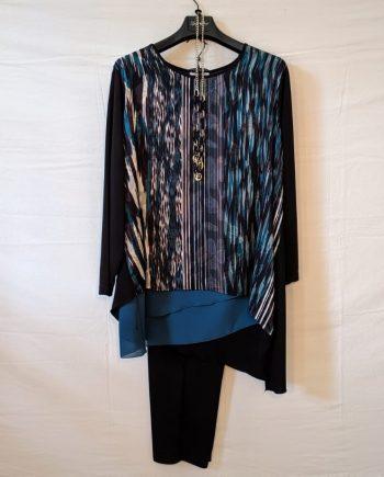 Completo Debora Couture LC02005 (BLU)