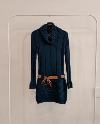 Abito Debora Couture 6085 (Ciano)
