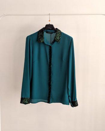 Camicia Debora Couture 0095 (Ciano)