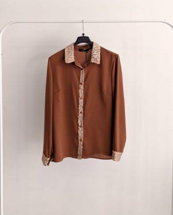 Camicia Debora Couture 0095 (Marrone)