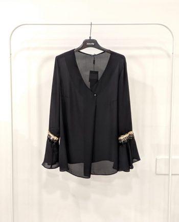 Camicia Over Debora Couture 66027 (Nero)