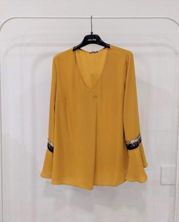 Camicia Over Debora Couture 66027 (Senape)