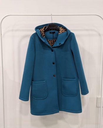 Cappotto debora couture 1613 (Azzurro)