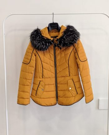 Giubbino Debora Couture 186 (Senape)