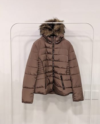 Giubbino Over Debora Couture MF7 (Tortora)