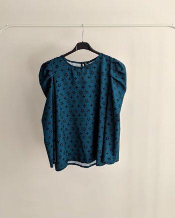 Maglia Debora Couture 3373 (Ciano)