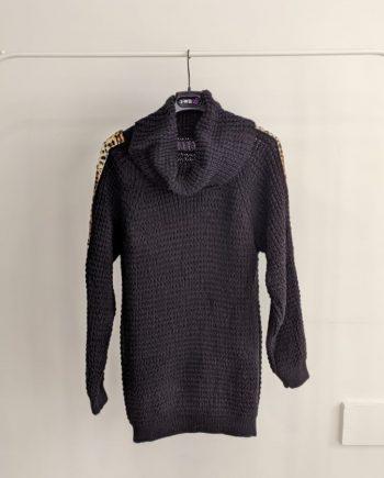 Maglione Debora Couture 18059 (Nero)