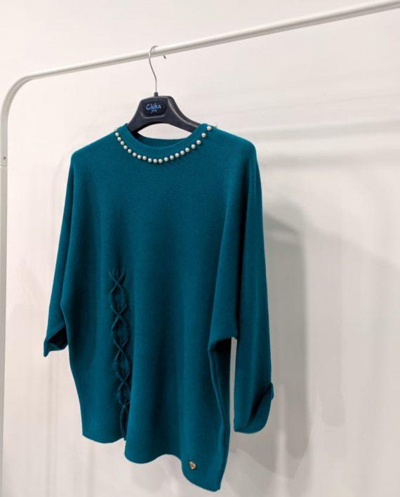 Maglione Debora Couture 19928 (Ciano) (2)