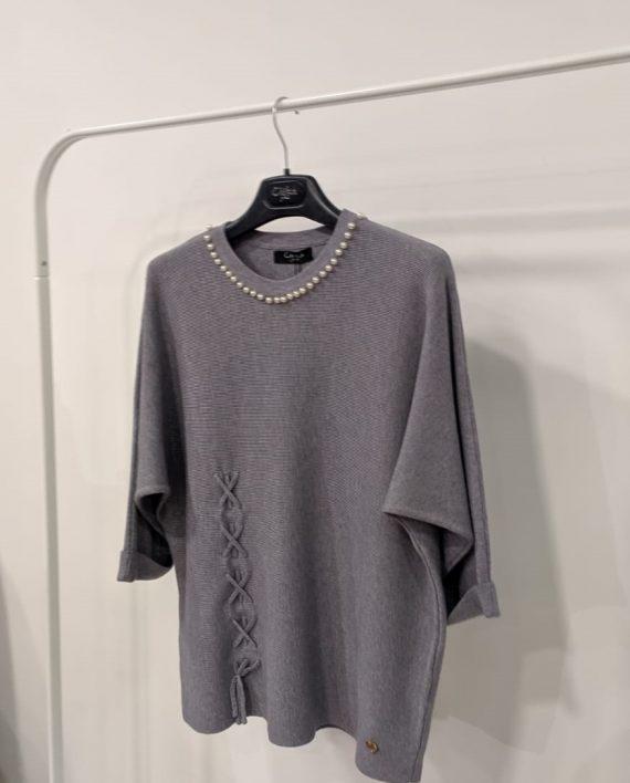 Maglione Debora Couture 19928 (Grigio) (2)