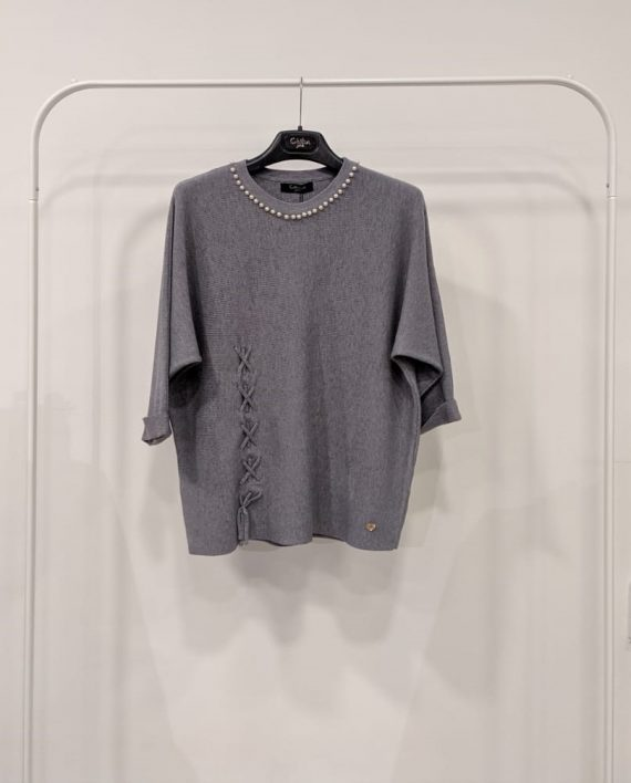 Maglione Debora Couture 19928 (Grigio)