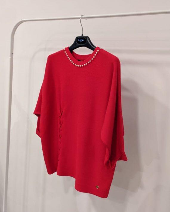 Maglione Debora Couture 19928 (Rosso) (2)