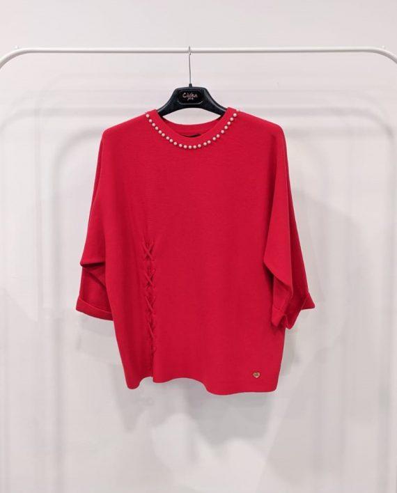 Maglione Debora Couture 19928 (Rosso)