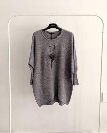 Maglione Debora Couture 22179 (Grigio)