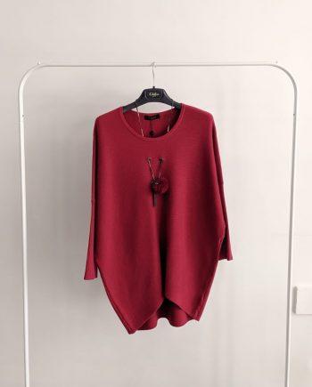 Maglione Debora Couture 22179 (Rosso)