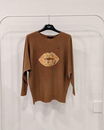 Maglione Debora Couture 89169 (Marrone)