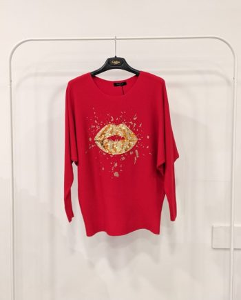 Maglione Debora Couture 89169 (Rosso)