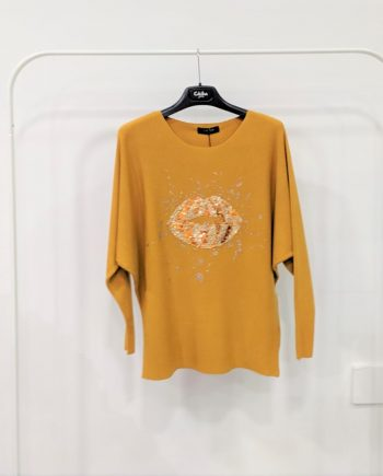 Maglione Debora Couture 89169 (Senape)