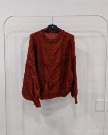 Maglione Debora Couture TX0065 (Mattone)